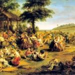 La Kermesse de Rubens, du temps  d'une Flandre joyeuse et accueillante...