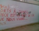 Tag antisémite de 5 juin à  Ixelles!