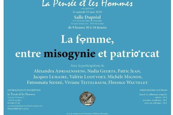 Colloque : La femme, entre misogynie et patriarcat
