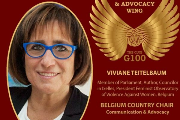 G100 Belgian Country chair advocacy and communication